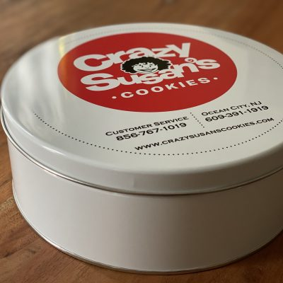 Crazy 12 Count Cookie Tin