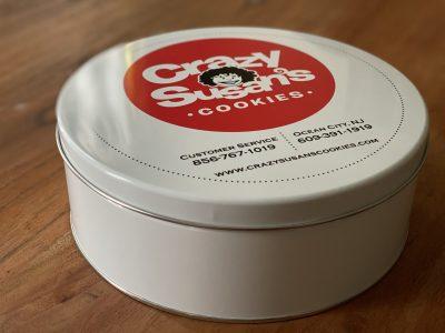 Crazy 12 Count Cookie Tin